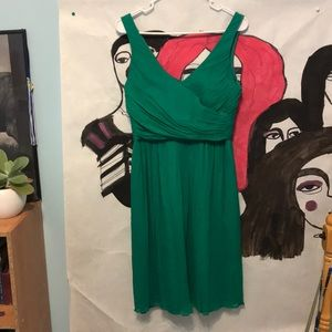 j Crew Emerald Green cocktail dress
